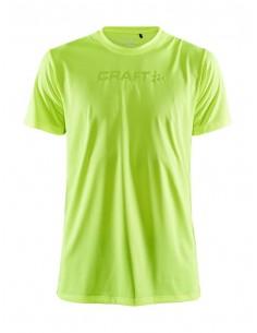 Koszulka męska Craft Core Essence SS Mesh TEE Seledynowa