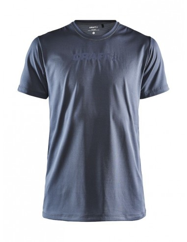 Koszulka męska Craft Core Essence SS Mesh TEE Szaro-Niebieska