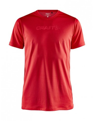 Koszulka męska Craft Core Essence SS Mesh TEE Czerwona