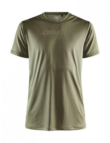 Koszulka męska Craft Core Essence SS Mesh TEE Khaki