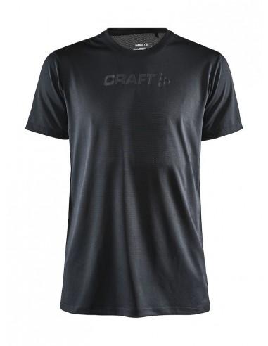 Koszulka męska Craft Core Essence SS Mesh TEE Czarna