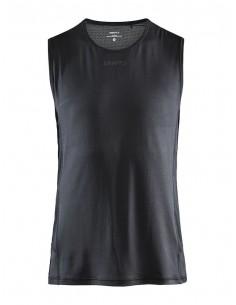 Koszulka bez rękawów męska Craft ADV Essence SL TEE Czarna