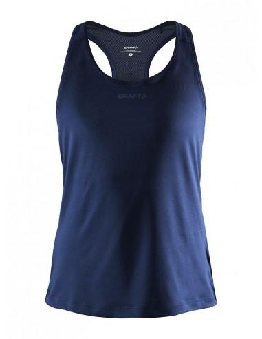 Koszulka damska na ramiączkach Craft ADV Essence Singlet Granatowa