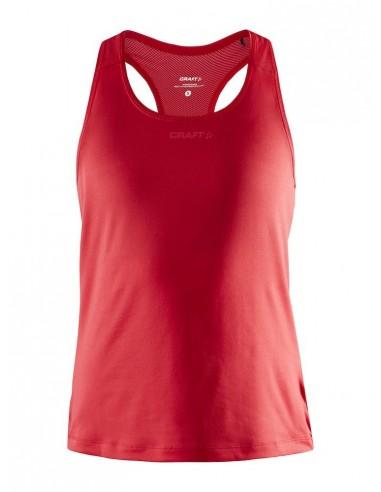 Koszulka na ramiączkach damska Craft ADV Essence Singlet Czerwona