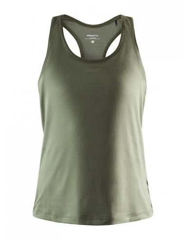 Koszulka na ramiączkach damska Craft ADV Essence Singlet Khaki