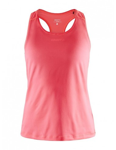 Koszulka na ramiączkach damska Craft ADV Essence Singlet Różowa