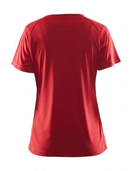 Koszulka damska Craft Prime TEE Czerwona