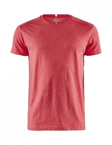 Koszulka męska Craft Deft 2.0 SS TEE Czerwona