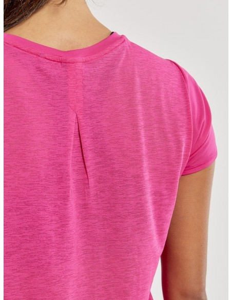 Koszulka damska Craft Charge SS RN TEE Różowa