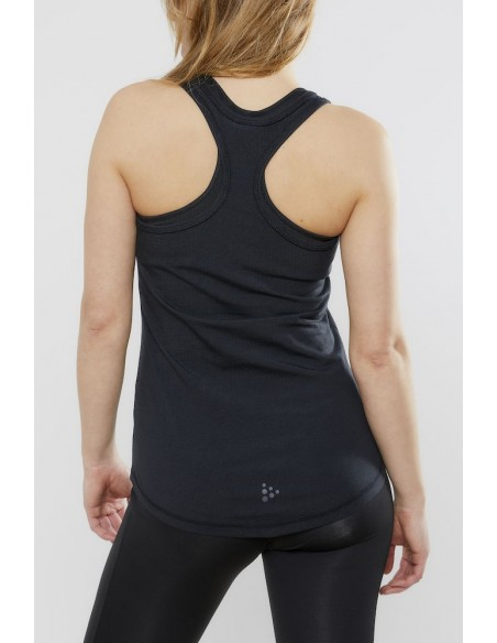 Koszulka na ramiączkach damska Craft Deft 2.0 Singlet Czarna