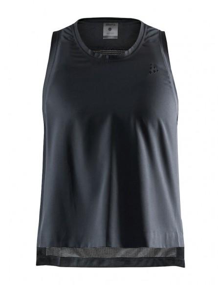 Koszulka bez rękawów damska Craft UNTMD High Slip Top Czarna