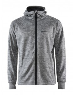 Bluza męska Craft Charge Tech Sweat Hood Szara