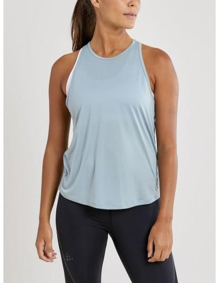 Koszulka na ramiączkach damska Craft Charge Singlet Błękitna