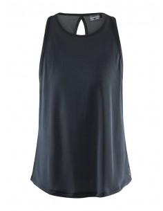 Koszulka na ramiączkach damska Craft Charge Singlet Czarna