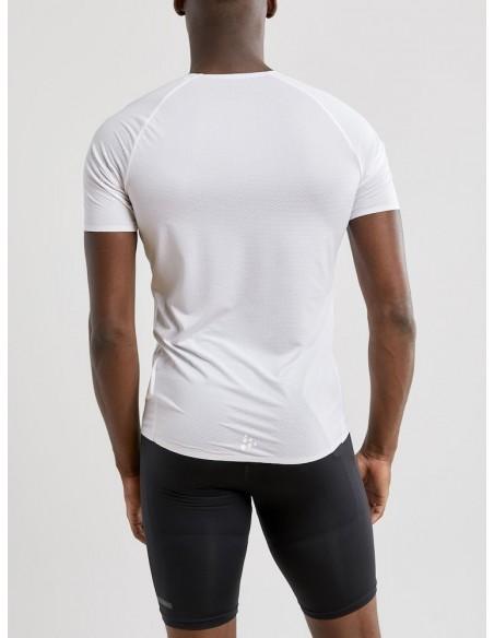 Koszulka męska Craft Pro Dry Nanoweight SS Biała