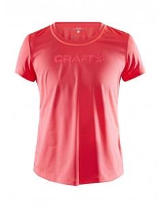 Koszulka damska Craft Core Essence SS Mesh TEE Różowa