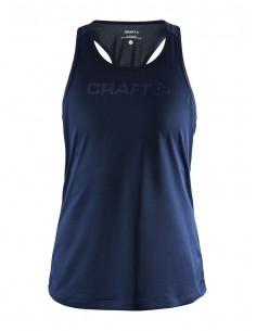 Koszulka na ramiączkach damska Craft Core Essence Mesh Singlet Granatowa