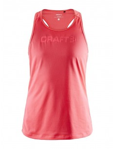 Koszulka na ramiączkach damska Craft Core Essence Mesh Singlet Różowa