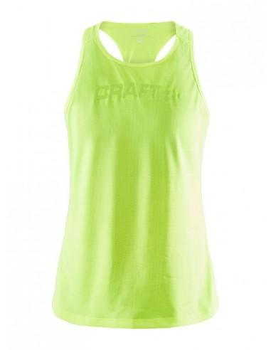 Koszulka na ramiączkach damska Craft Core Essence Mesh Singlet Seledynowa