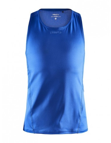 Koszulka bez rękawów męska Craft ADV Essence Singlet Niebieska