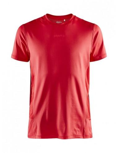 Koszulka męska Craft ADV Essence SS TEE Czerwona
