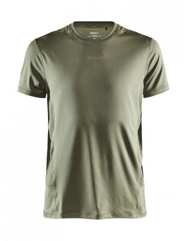 Koszulka męska Craft ADV Essence SS TEE Khaki