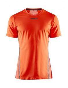 Koszulka męska Craft Vent Mesh SS TEE Pomarańczowa