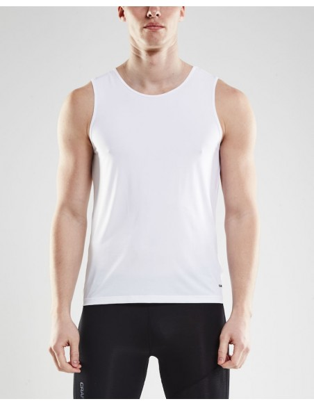 Koszulka na ramiączkach męska Craft Essential, biała