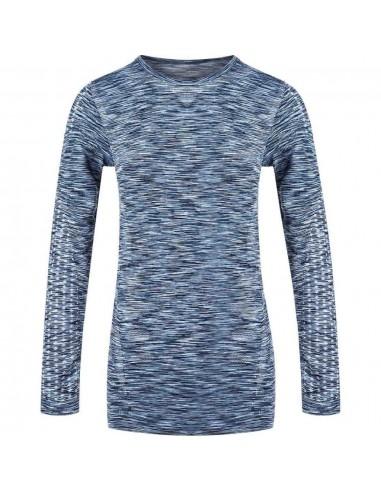 Koszulka z długim rękawem damska Endurance Ascoli, niebieska