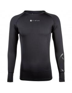Koszulka kompresyjna z długim rękawem Endurance Tamil, czarna