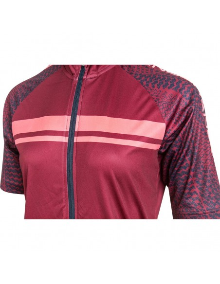 Koszulka rowerowa damska Endurance Wellsie, różowa