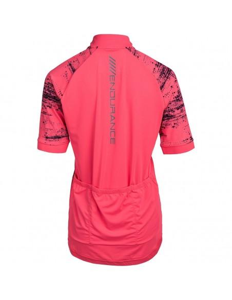 Koszulka rowerowa damska Endurance Vivienne, różowa