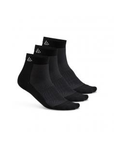 Skarpetki sportowe Craft Cool Mid 3-pack Sock czarne