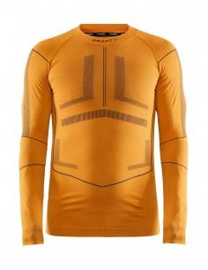 Koszulka męska Craft Active Intensity LS Pomarańczowa