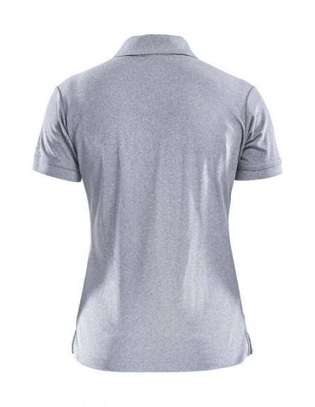 Koszulka polo damska Craft Pique Szara