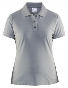 Koszulka damska Craft Polo Shirt Pique Classic Szara