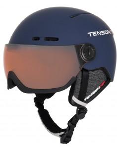Kask narciarki Tenson NANO VISOR, granatowy