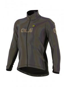 Kurtka rowerowa męska Alé Cycling Klimatik Guscio Iridescent Reflective Winter Jacket