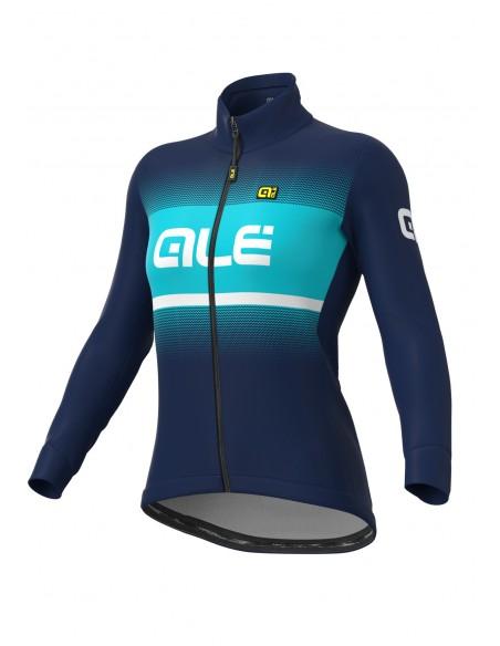 Kurtka rowerowa damska Alé Cycling Solid Blend DWR Lady Winter Jacket