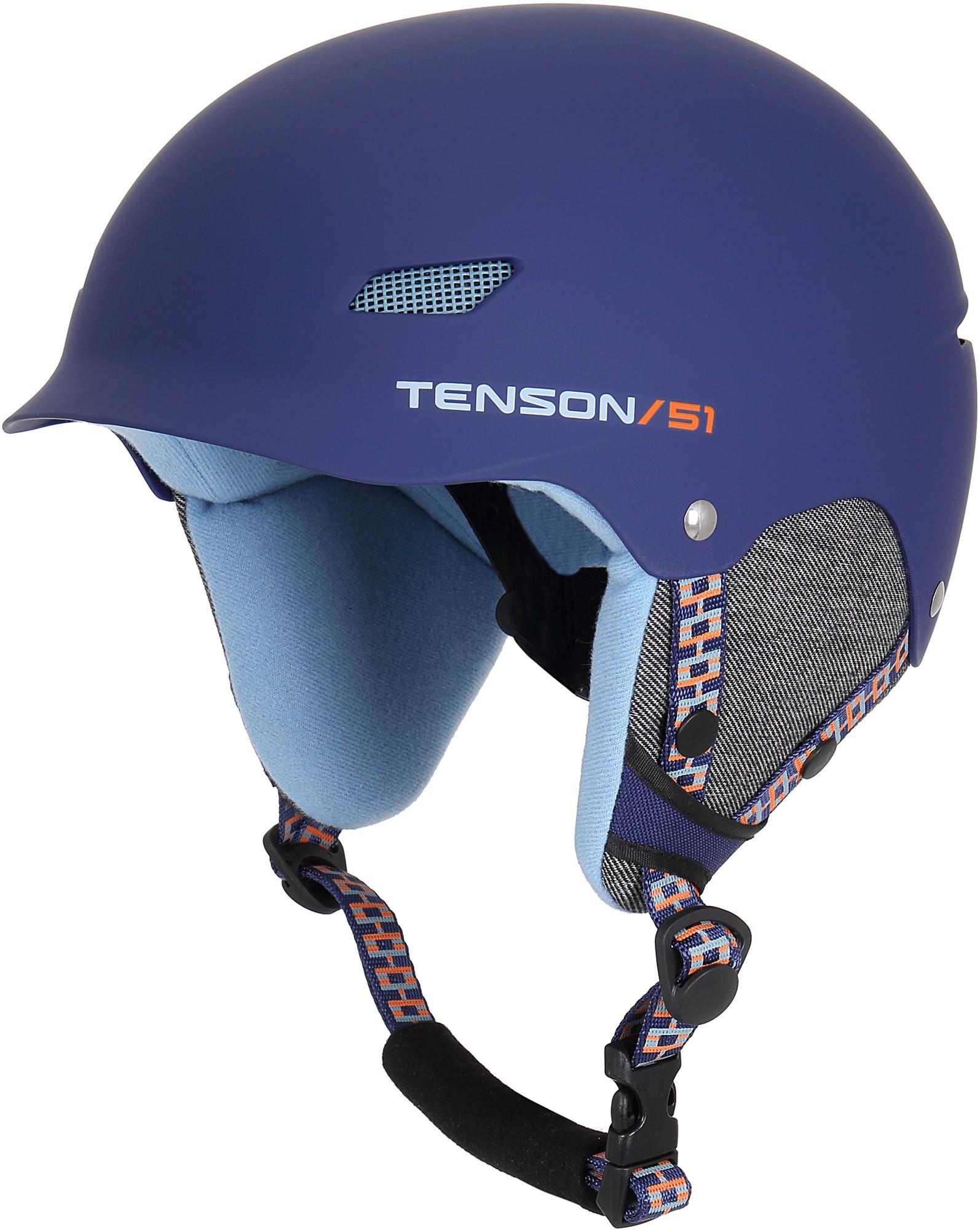 Kask narciarski dziecięcy Tenson PARK, granatowy one size Navy Blue