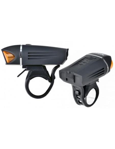 Zestaw lamp rowerowych ProX Volans