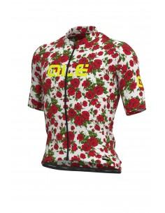 Koszulka rowerowa męska Alé Cycling Graphics PRR Roses