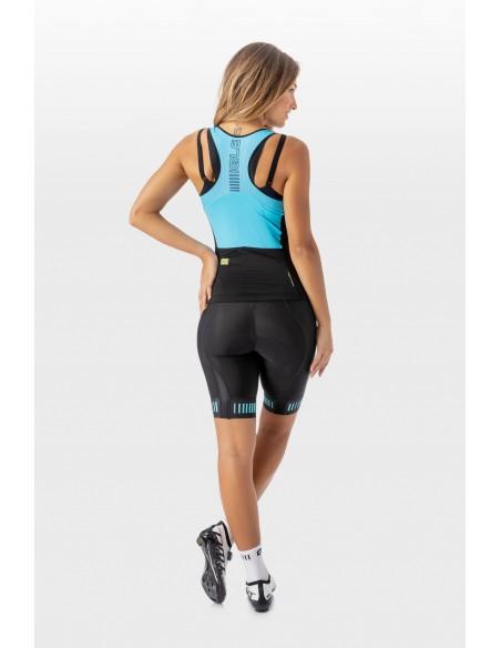 Koszulka rowerowa damska Alé Cycling Solid Top Color Block