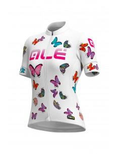 Koszulka rowerowa damska Alé Cycling Graphics PRR Butterfly