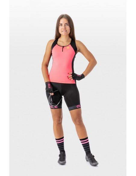 Spodenki rowerowe damskie Alé Cycling Solid Traguardo