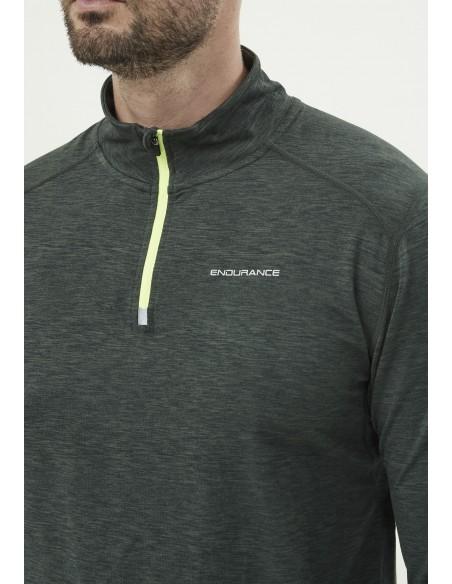 Bluza do biegania męska Endurance Tune Melange