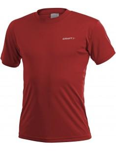 Męska koszulka sportowa CRAFT Prime Tee czerwona
