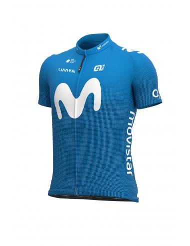 Koszulka rowerowa męska Alé Cycling Pro Team Replica Movistar