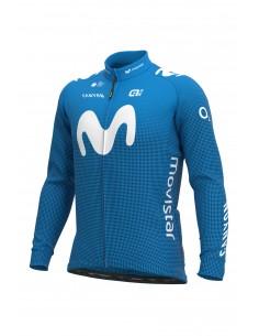 Bluza rowerowa męska Alé Cycling Pro Team Replica Movistar Winter