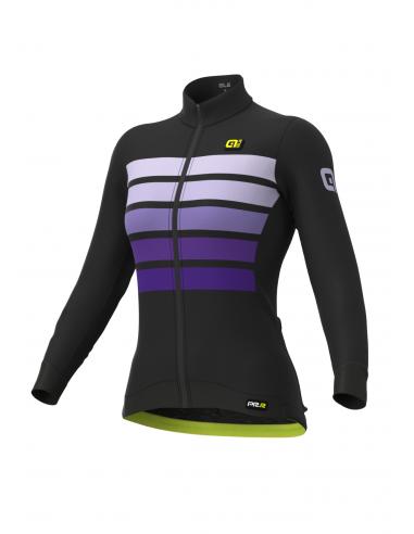 Bluza rowerowa damska Alé Cycling Graphics PRR Sombra Wool Thermo